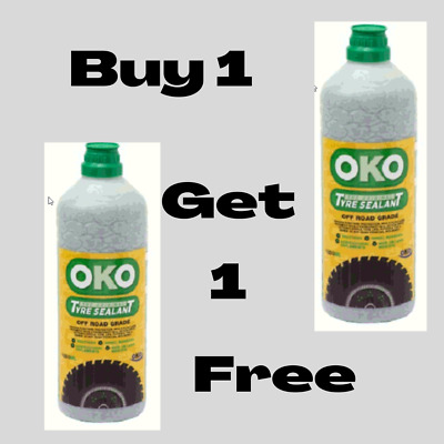 Oko Off Road Tyre Sealant Bottle Sealer Puncture  1250Ml Stop Punctures 1.25