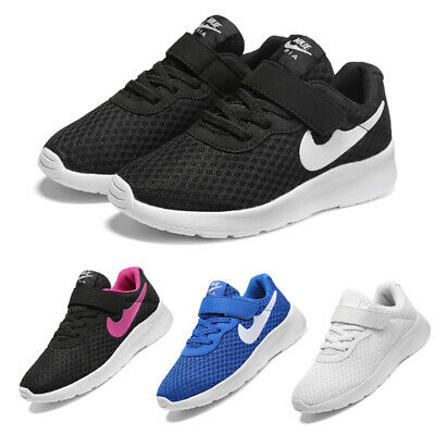 UK Kids Children Running Trainers Boys Girls Comfort Sports Shoes Mesh Sneakers