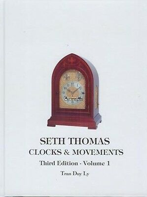 Vol 1 of  SETH THOMAS CLOCKS & MOVEMENTS by Tran Duy Ly - includes Price Booklet