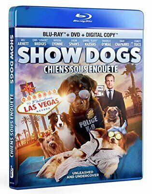 NEW - Show Dogs [Blu-ray + DVD + Digital Copy]