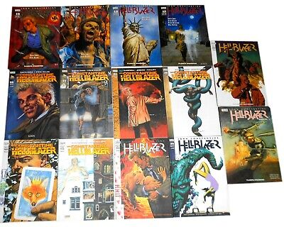 John Constantine HELLBLAZER vertigo monthly sequenza 18 / 30 + annual 1