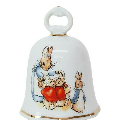 Reutter Beatrix Potter Peter Rabbit Collectable Porcelain Bell