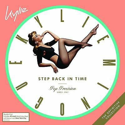 Kylie Minogue Step Back In Time The Definitive Collection Double Vinyl Lp (28/06