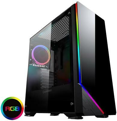 Game Max Shadow RGB Tempered Glass Mid Tower Case Mid Tower 2x USB 3.0 Ports