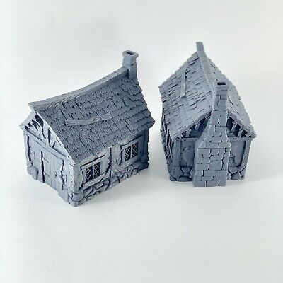 City of Tarok Small Cottage 28mm TableTop/Wargaming/Medieval Buildings
