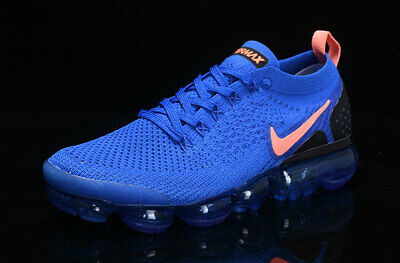 huge selection of cad70 836f0 2018 NIKE AIR Vapormax Flyknit Men's - Running Movement Fitness City Trai  Blue