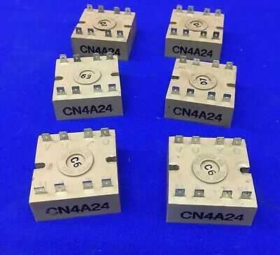 Qty 6 - Centent Cn4A24 Connector Blocks