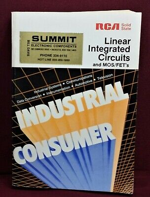 1982 RCA Linear Integrated Circuits MOS/FETs SSD-240B