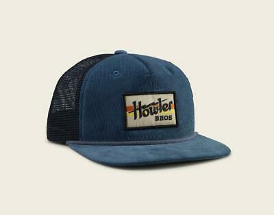 50aa5cabacc923 Howler Brothers Electric Stripe Snapback Hat ~ Blue Corduroy NEW ~ CLOSEOUT