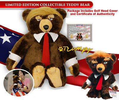 Trumpy Bear with Trumpy Golf club Cover Combo