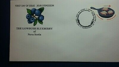 "Canada FDC Unique ""Check Price""  NS Blueberry Grunt 2019 Dessert Issue"