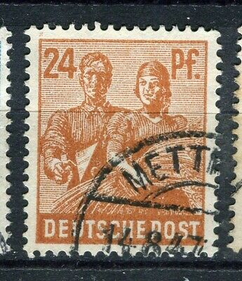 GERMANY; ALLIED OCC. ZONES 1947-48 pictorial issue fine used 2pf. value
