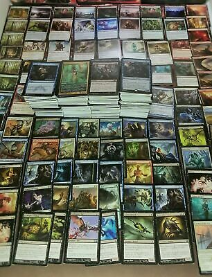 Magic the Gathering Card 1000+ Collection w/ 20 Rares 10 Foils 2 Storage Boxes