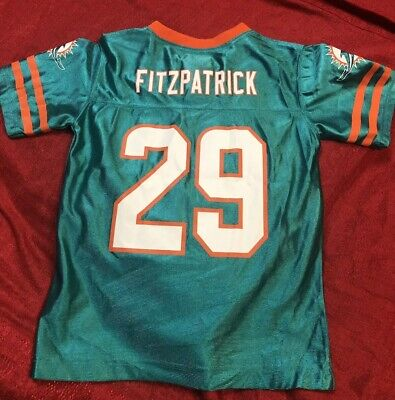 MIAMI DOLPHINS NFL Kids Youth Size Medium M 5 6 football jersey