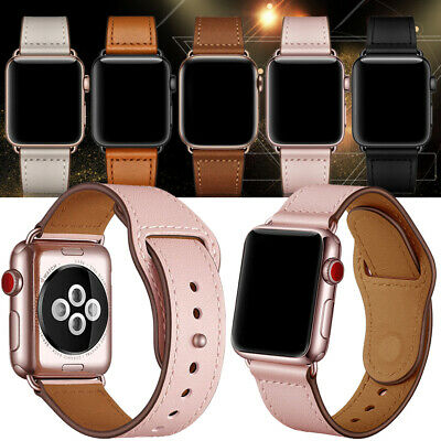 Retro Leather Watch Band Strap for Apple iWatch Series 4 3 2 1 38/42mm 40/44mm