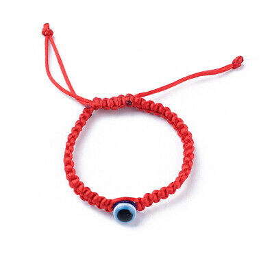 Handmade Lucky Kabbalah Red String Hamsa Bracelets Blue Evil Eye Amulet Jewelry