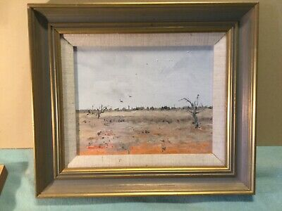 Jenni Mitchell Renmark 85 Framed Oil Painting