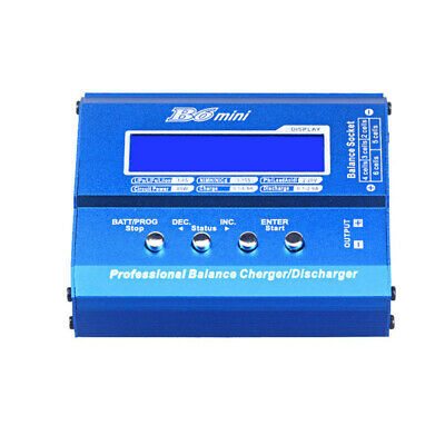 iMAX B6 Mini 80W 5A Digital DC Battery Balance Charger XT60 Plug LCD Screen US