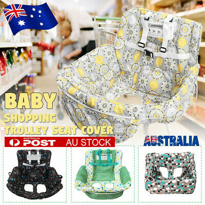 Baby Shopping Trolley Seat Cover Cushions Soft Cart Pad High Chair Mat Portable