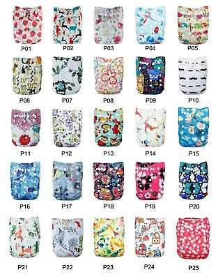 Cathybaby Cloth Diapers Reusable Washable  Pocket Nappy With Optional Insert
