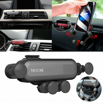 Universal Auto-Grip Car Phone Holder Gravity Air Vent Mount For iPhone Huawei UK
