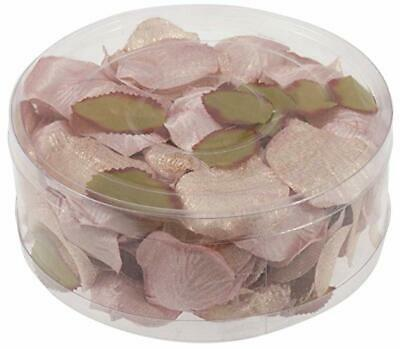 Quality Glitzy Rose Gold Artificial Rose Petals approx 164 Wedding Venue Decor