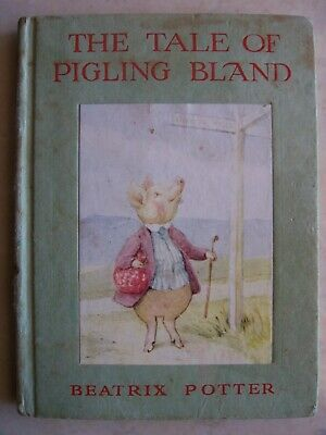 The Tale Of Pigling Bland by Beatrix Potter 94 Pages Hardcover Vintage