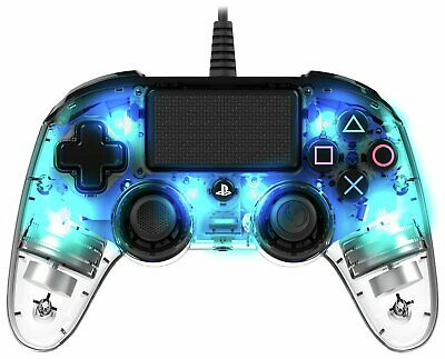 Nacon Sony Playstation PS4 Compact Controller - Crystal Blue