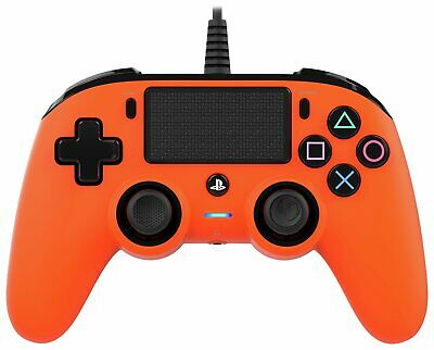 Nacon Sony Playstation PS4 Compact Wired Controller - Orange