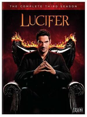 Lucifer Season 3 Three The Complete Third DVD Set New Sealed Free Shipping