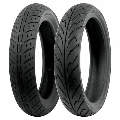 Coppia Gomme Maxxis 80/90-15 51J M6127 + 160/60-14 69H M6135