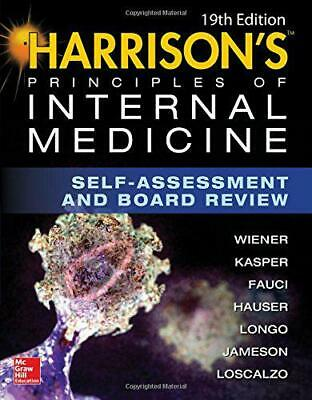 Harrison's Principles of Internal Medicine Self-Assessment and Board Review, 19t