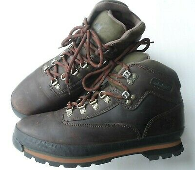 14fe9a13105 NEW STUSSY X Timberland Euro Hiker Brown Boot Size 11 SS - $139.98 ...