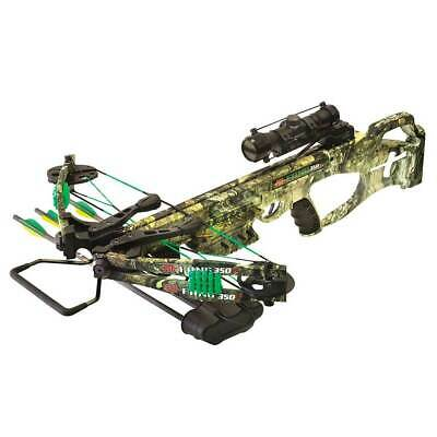 PSE Crossbow Fang 350 XT Includes Scope Arrows Cocker Quiver 01304CYRR Camo 2018