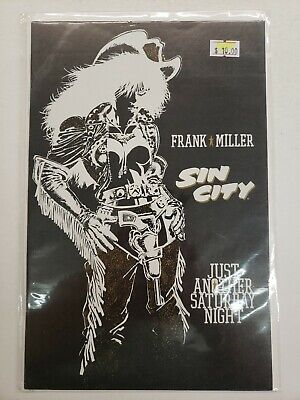 Sin City: Just Another Saturday Night Vf/Nm 1998 Dark Horse Comics Frank Miller