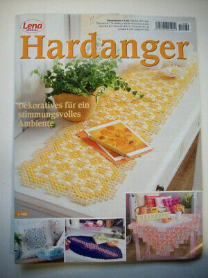 LENA Hardanger German pattern booklet  52 designs charts