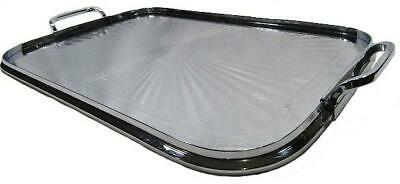 Stainless Drink Serving Tray Mid Century Ranleigh 51 x 30.5 cm