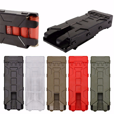 12 Gauge-Shotgun Shell Model Fast Loading Clip Holder Box for Hunting Shooting