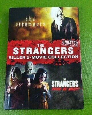 The Strangers: Killer 2-Movie Collection (DVD, 2018, 2-Disc Set) NEW SEALED