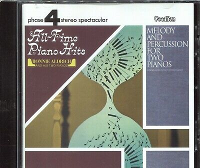 Melody and Percussion for Two Pianos by Ronnie Aldrich & His Two Pianos (CD,...