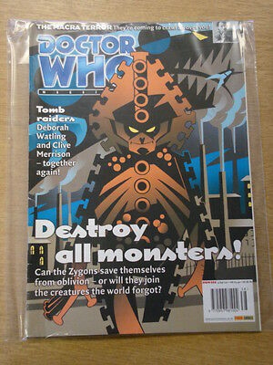 Doctor Who #308 2001 Sep 19 British Weekly Monthly Magazine Dr Who Dalek Zygons