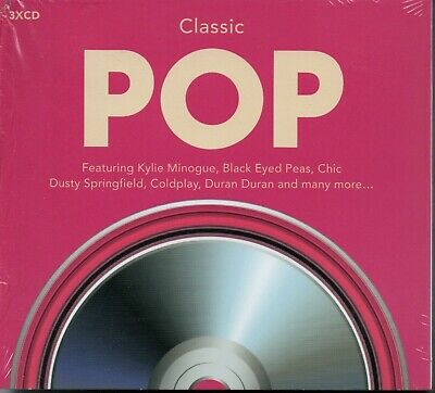 CLASSIC POP - Various Artists - 3xCD Album *NEW & SEALED*