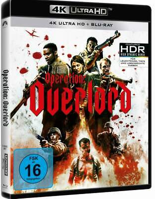 """OPERATION: OVERLORD"" - Nazi Zombie Horror - 4K ULTRA HD + BLU RAY - 2 Disc-Set"
