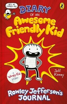 DIARY OF AN AWESOME FRIENDLY KID ROWLEY, Kinney, Jeff