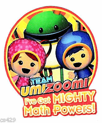 """8.5/"""" Team umizoomi bot car birthday wall decal decor cut out character"""