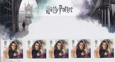 GB 2018 HARRY POTTER 5 x 1st CLASS HERMIONE GRANGER PRESENTATION PACK