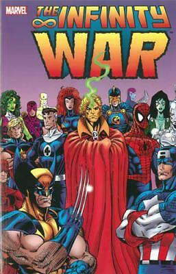 Infinity War TPB (Graphic Novel Pb) by Starlin, Jim, NEW Book, FREE & Fast Deliv