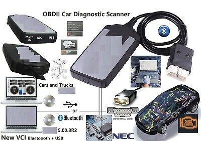 Diagnostic Interface -Vehicle-Bluetooth=Obd2 Car Truck Scanner+Garage Data 2018