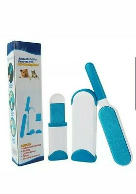 Pet Fur Lint Remover Cleaning Clothes Brush Cat Dog Hair Fur Dust Magic Wizard