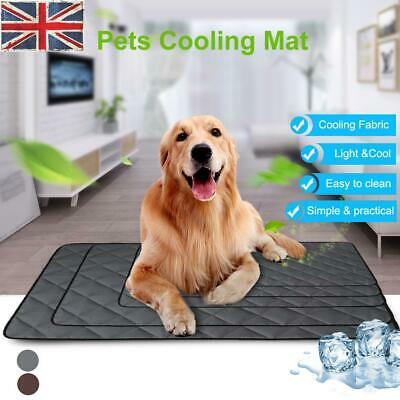 Pets Cooling Chilly Mat Non-Toxic Cool Gel Pad Bed Summer Dog Cat Heat Relief